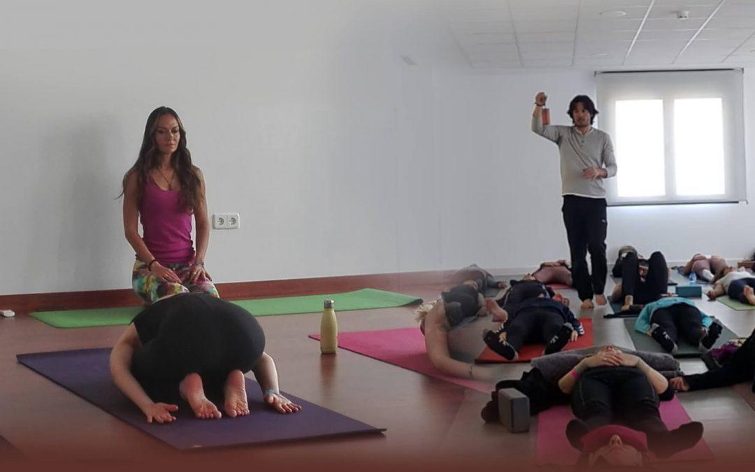 Sesión de Yin Yoga